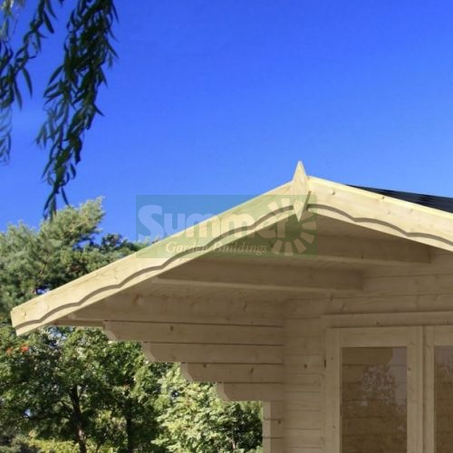 LOG CABINS - Roof options