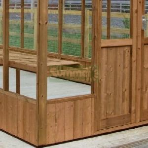 GREENHOUSES - Thermally modified timber