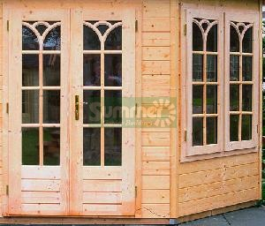LOG CABINS xx - Door and window options