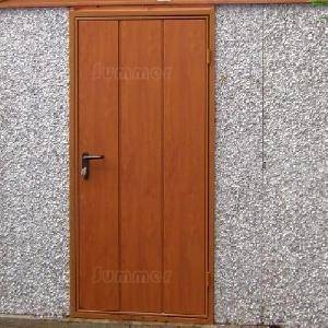 Options - colour finish personnel door