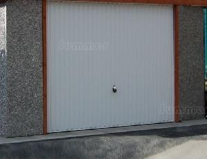 CONCRETE GARAGES, TIMBER GARAGES, STEEL GARAGES - Up and over door position - 12ft and 14ft wide garages only