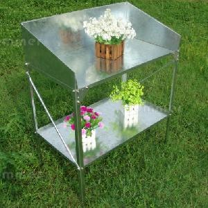 GREENHOUSES - Steel potting benches