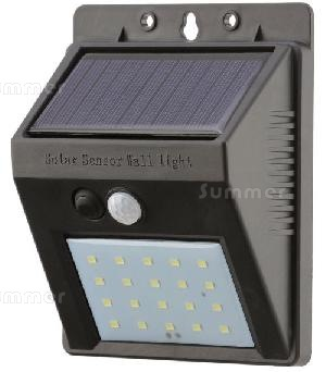 LOG CABINS - Solar powered outside lights with motion sensors - no running costs