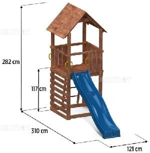 OUTDOOR PLAY - Overall dimensions