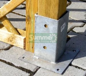 GARDEN FURNITURE - Post fixing brackets
