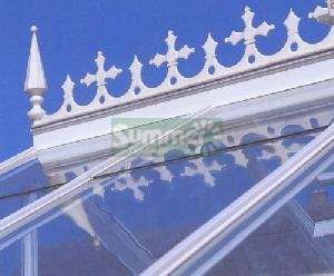 GREENHOUSES - Ridge crests and finials