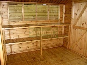 SHEDS xx - Workbenches - timber