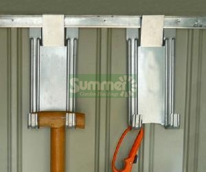 CONCRETE GARAGES, TIMBER GARAGES, STEEL GARAGES, CARPORTS xx - Tool hooks