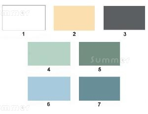 SUMMER HOUSES - Paint finish - Full colour chart