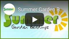 Click to watch the Summer Garden Buildings video about LOG CABINS