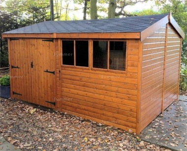 Side Door Apex Shed 934 - Shiplap, Heavy Duty Floor