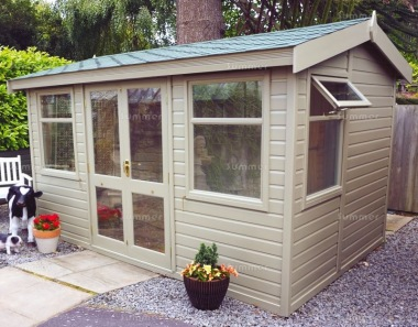 Side Door Apex Summerhouse 575 - Double Glazed