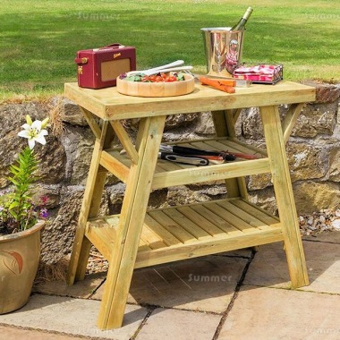 BBQ Side Table 864 - Pressure Treated