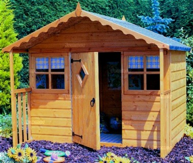 Childrens Playhouse 82 - Shiplap, Georgian