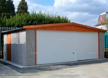 Spar Apex Double Concrete Garage 258