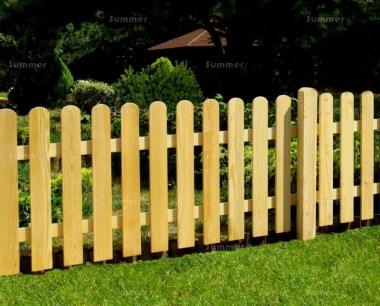 Fence Panel 484 - Planed Timber, 18mm Thick Boards, 4 Heights