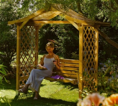 Garden Arbour 32 with Swing Seat