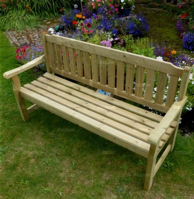 3 Seater Bench 210 - Pressure Treated