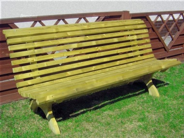 4 Seater Bench 221 - Pressure Treated