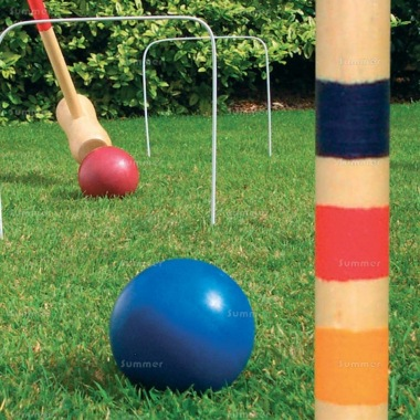 Wooden Garden Croquet Set 507