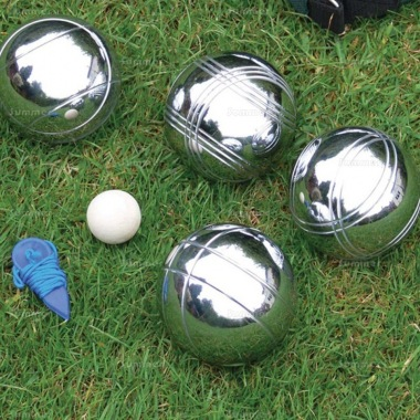 Steel French Boules Garden Game Set 515