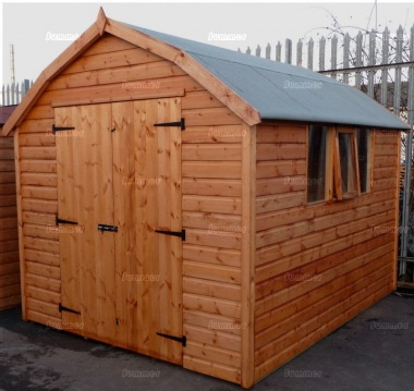 Shiplap Barn Style Apex Shed 196 - All T and G