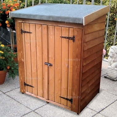 Overlap Pent Roof Small Storage Shed 153