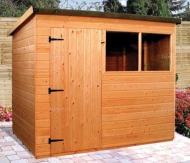 Shiplap Pent Shed 161 - T and G Floor and Roof