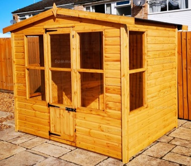 Apex Summerhouse 103 - Shiplap, Low Level Glazing
