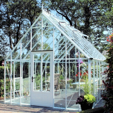 Aluminium Victorian Greenhouse 675 - Box Section, Toughened Glass