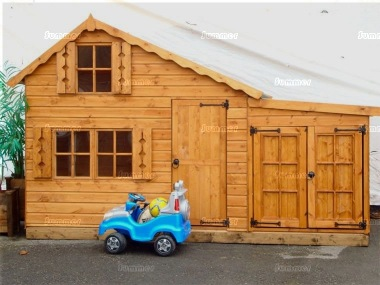 Two Storey Playhouse 134 - With Garage