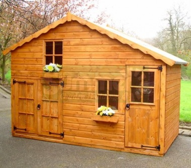 Two Storey Playhouse 135 - With Garage