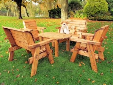 Kids Bench Set 758 - Benches, Armchairs, Table