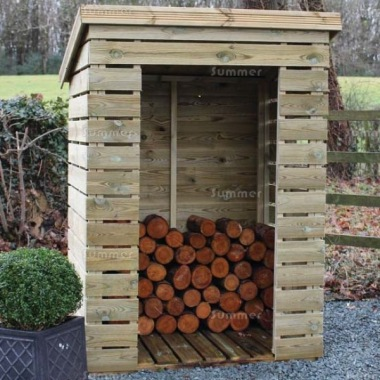 Log Store 986 - Pressure Treated