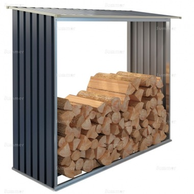 Metal Log Store 117 - Galvanized Steel
