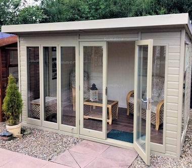 Pent Summerhouse 54 - Double Glazed