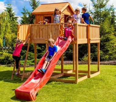 Platform Play Centre 372 - 4ft 9in High Platform With Slide