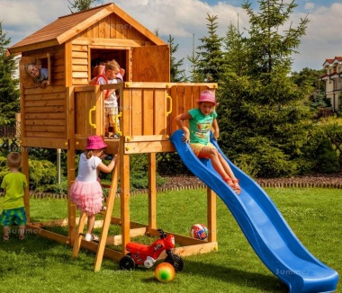 Platform Play Centre 378 - 4ft High Platform and Slide