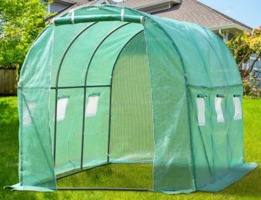 Polytunnel 270 - Reinforced Cover, Six Windows