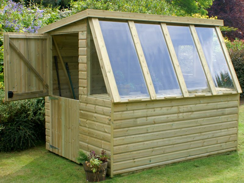 Pressure Treated Potting Shed 601 - All T and G