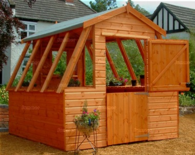 Potting Shed 602 - Apex Roof, Shiplap, All T and G