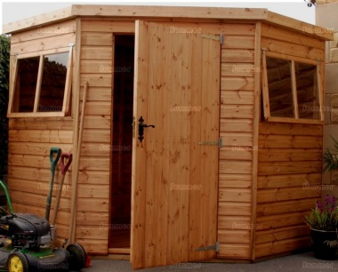 Shiplap Corner Shed 554 - T and G Floor and Roof