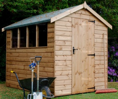 Apex Shed 575 - Shiplap, T and G Floor and Roof