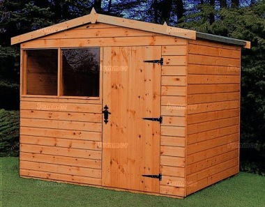 Shiplap Transverse Apex Shed 577 - All T and G