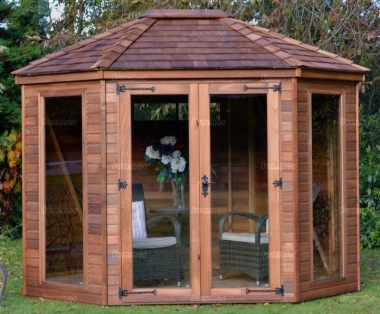 Octagonal Summerhouse 953 - Large Panes