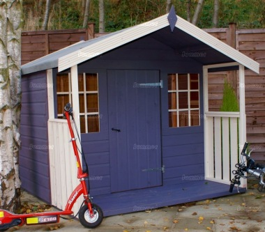 Childrens Painted Playhouse 257 - Choice of Colours