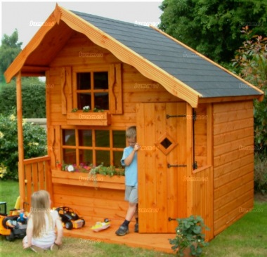 Two Storey Playhouse 41 - Upstairs to one Side