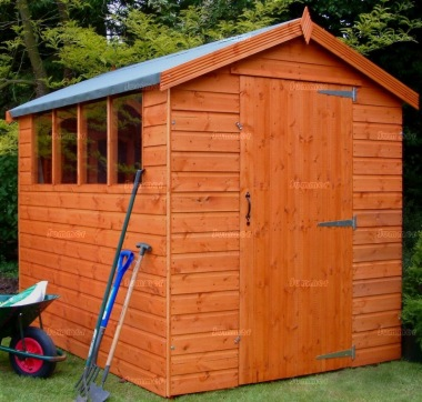 Apex Shed 52 - Shiplap, T and G Floor and Roof