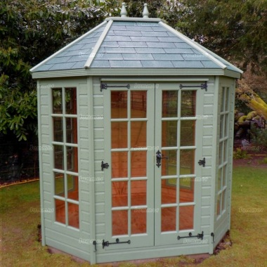 Georgian Octagonal Summerhouse 22 - Double Door