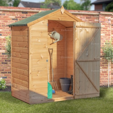 Apex Roof Storage Shed 321 - Pressure Treated, Shiplap